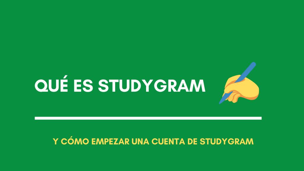 studygram que es