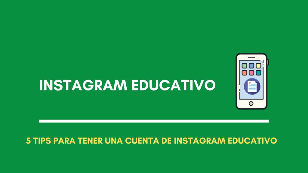 instagram educativo